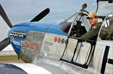 Ed Shipley, a former Boeing 747 captain, is a regular performer across the North American airshow circuit and flies the P-51 Mustang as part of The Bremont Horsemen Mustang display team.