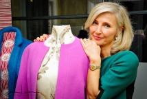 Compulsory credit : Chris Lawson Bespoke fashion designer Michaela Jedinak, founder of Dresses Designed For You.